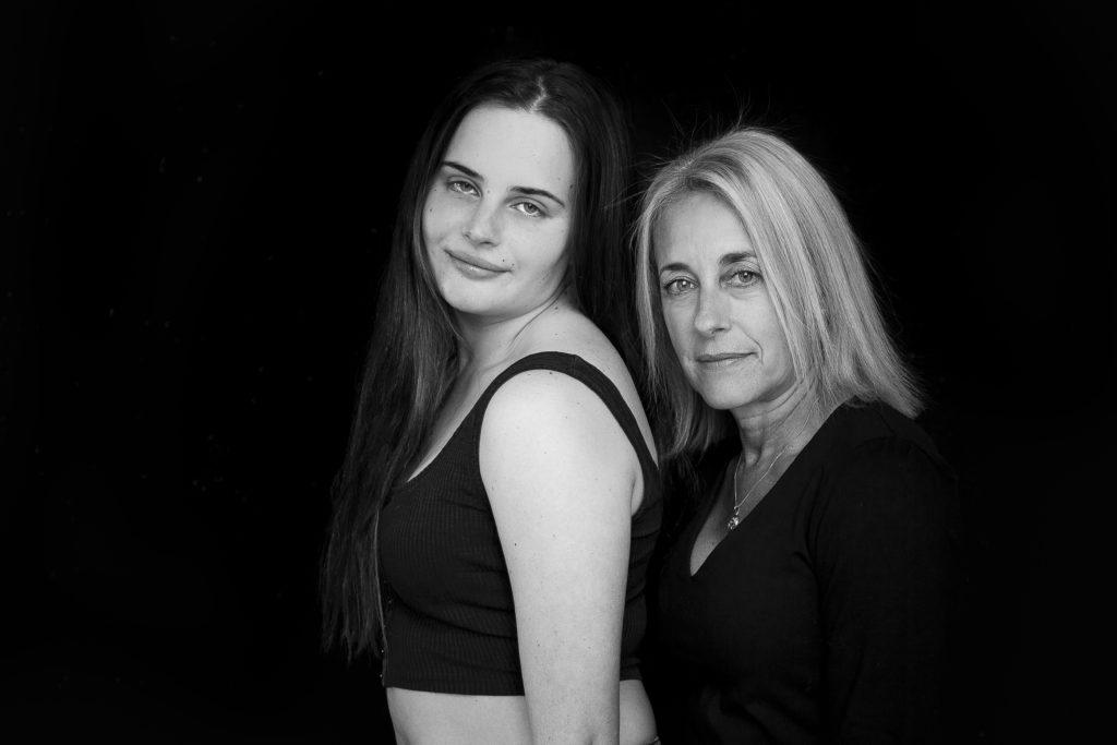 Mother Daughter Studio Shoot